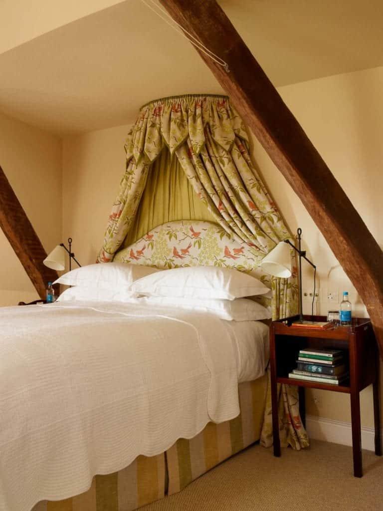 beamed bedroom 1